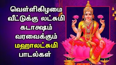 LIVE | 🔴 | FRIDAY SPL MAHA LAKSHMI SONGS || Lakshmi Devi Tamil Devotional Songs | Bhakti Padalgal