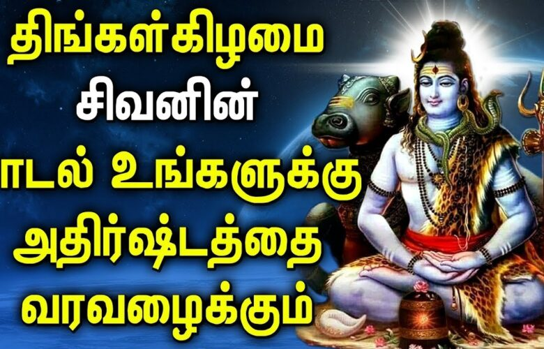 LORD SIVA BLESS YOU SUCCESS AND SHOWER WITH MORE MONEY | Lord Shiva Tamil Devotional Songs
