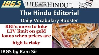 Life Changing The Hindu Editorial Session with Ram Sir 10 Aug  2020