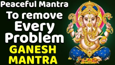 Peaceful Mantra to remove Every Problem | Lord Ganesh Bhakthi Songs | 49