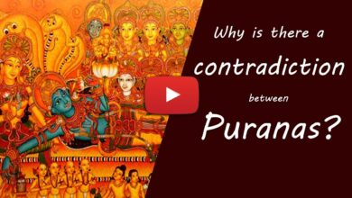 Why is there a contradiction between Puranas?