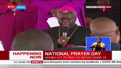 """""""Help us with your wisdom..."""" Bishop Anyolo's opening prayer National Prayer day"""
