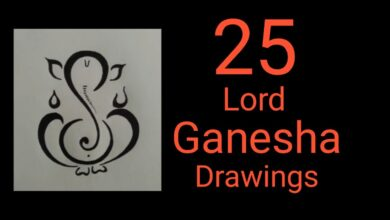 25 different images(designs) of Lord Ganesha    ganpati bappa images
