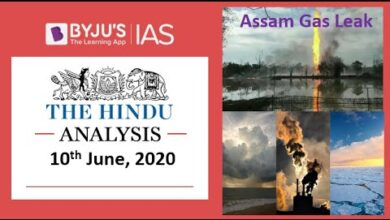 'The Hindu' Analysis for 10th June, 2020. (Current Affairs for UPSC/IAS)