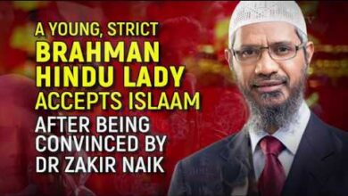 A Young, Strict Brahman Hindu Lady Accepts Islaam after being Convinced by Dr Zakir Naik