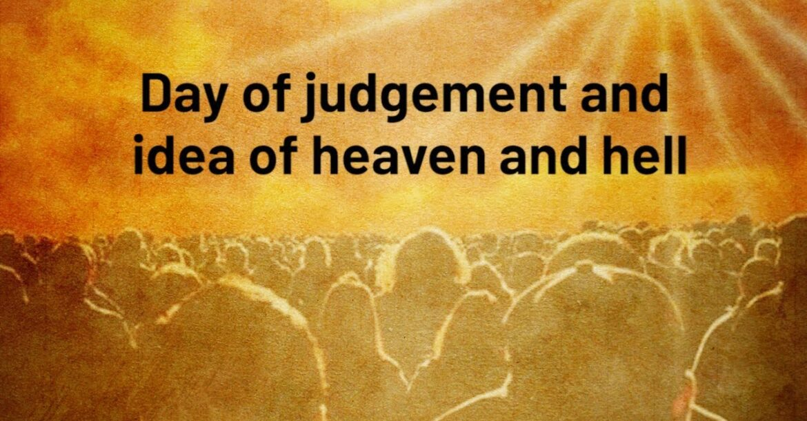 Day of judgement and idea of heaven and hell |Jay Lakhani | Hindu Academy |