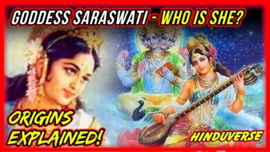 Goddess Saraswati - The Deity of Knowledge! Origins Explained! Hindu Mythology Stories!