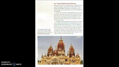 Hindu Beliefs About Brahman