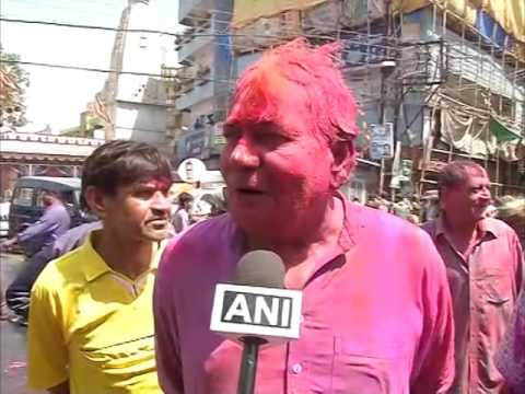 Hindu festival of colours celebrated in central India