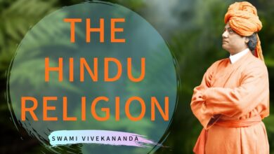 Hindu religion is your property as well as mine - Swami Vivekananda