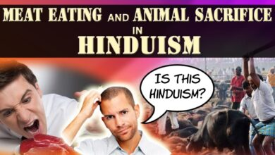 Is Meat Eating and Animal Sacrifice part of Hinduism?  (Veg Vs Non-Veg diet)