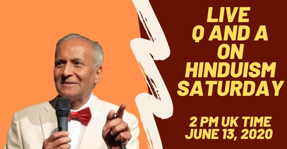 Live Q and A on Hinduism with Jay Lakhani and Hindu Academy team
