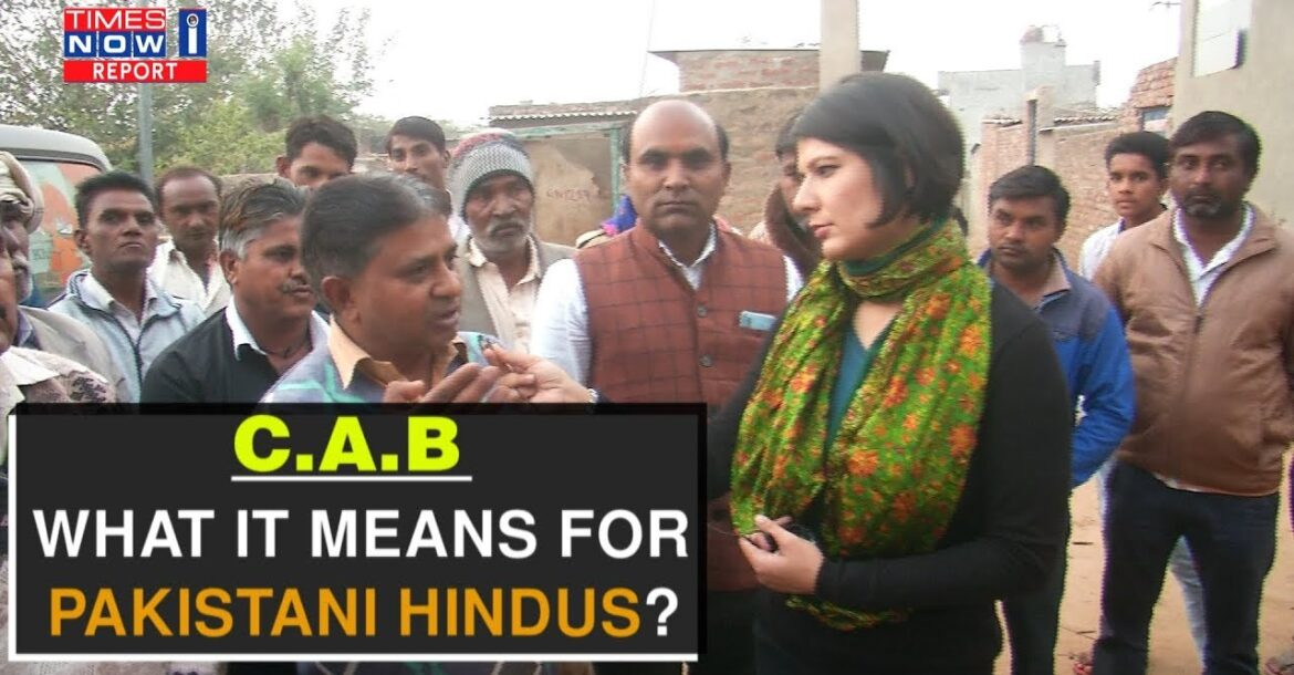 Pakistani Hindus share why Citizenship Amendment Bill is a ray of hope for them | Times Now i-Report