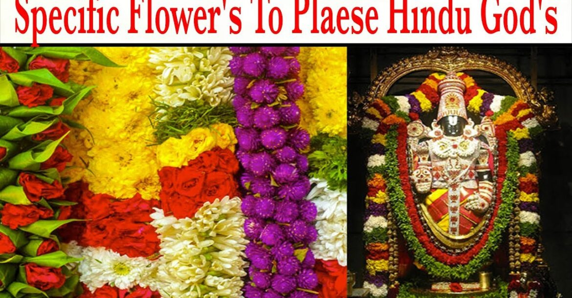 Specific Flower's To Plaese Hindu God's