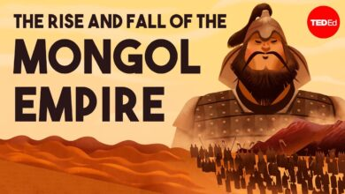 The rise and fall of the Mongol Empire - Anne F. Broadbridge
