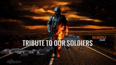 Tribute to our Soldiers From HINDU TODAY