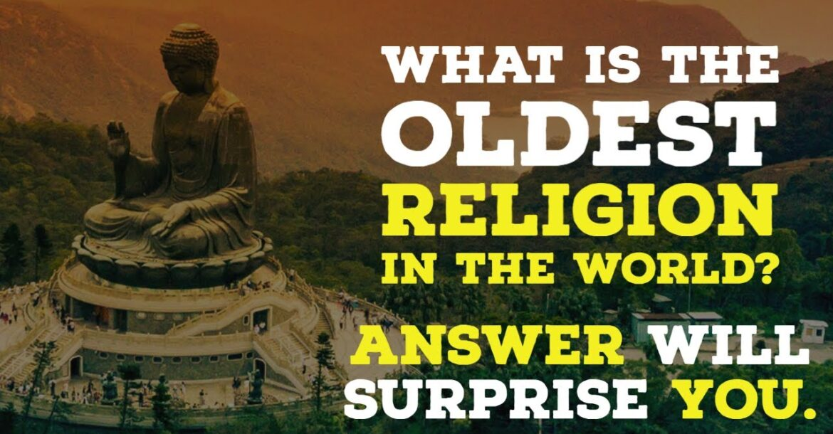 What is world's oldest religion? Answer may surprise you. Oldest Religion in the world is Hinduism.