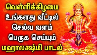 வெள்ளிக்கிழமை வீட்டில் ஒலிக்க வேண்டிய மஹாலக்ஷ்மி பாடல் || Best Maha Lakshmi Tamil Devotional Songs