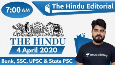 7:00 AM - The Hindu Editorial Analysis by Vishal Sir | 4 April 2020 | The Hindu Analysis