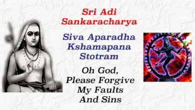 FORGIVE MY FAULTS AND SINS ~ SIVA APARADHA KSHAMAPANA STOTRAM ~ ENGLISH MEANING & NARRATION