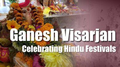 Ganesh Visarjan - Celebrating Hindu Festivals in Toronto