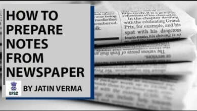 How to Prepare Notes from Newspaper (in Hindi) for UPSC/PSC Civil Services Exam By Jatin Verma