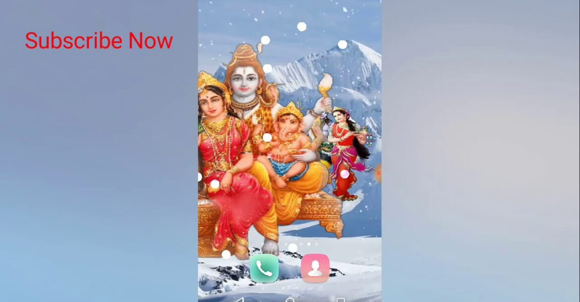 How to make 4D Shiva wallpaper In android mobile  phone|In kannada