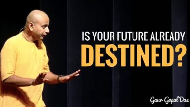 Is your future already destined? by Gaur Gopal Das