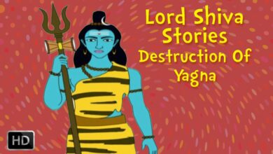 Lord Shiva Stories - Destruction Of Yagna - Animated Stories from Shiva Purana