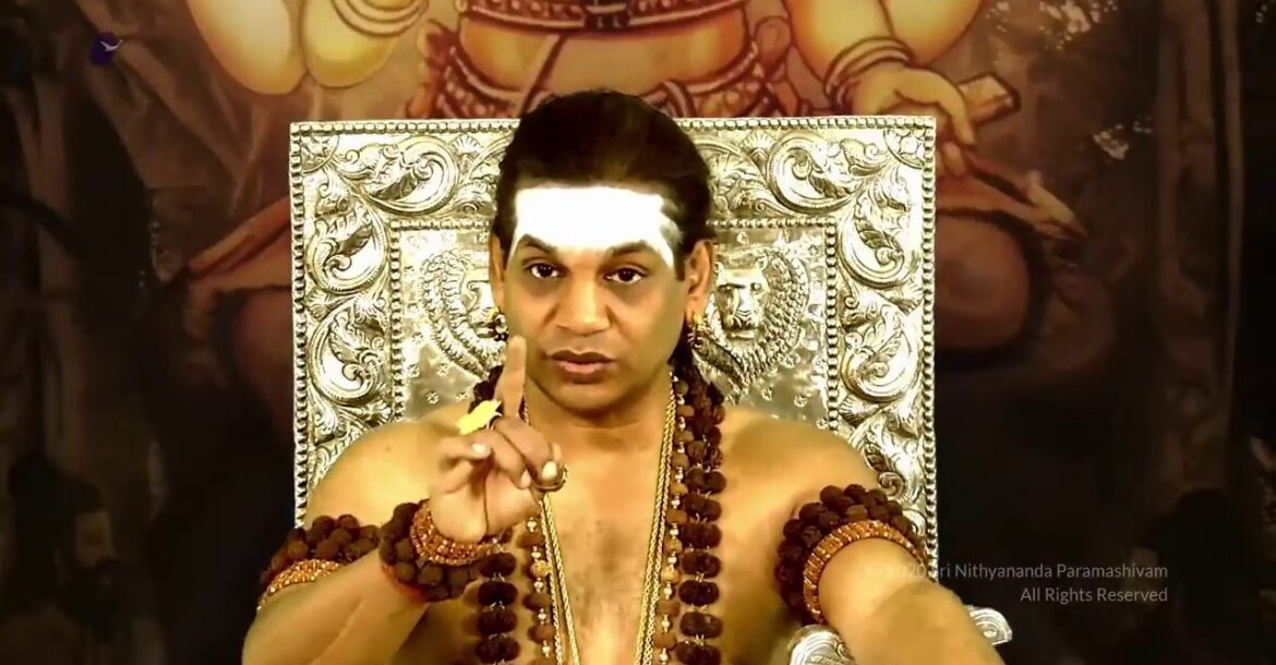 Most of the Hindus are so brainwashed they don't believe there is a war going on on them Nithyananda