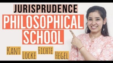 Philosophical School of Jurisprudence | Natural Law School | Legal Theory | In Hindi