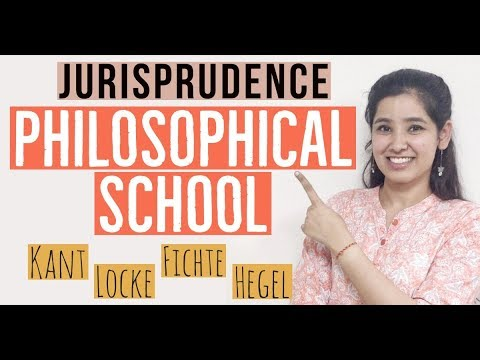 Philosophical School of Jurisprudence   Natural Law School   Legal Theory   In Hindi