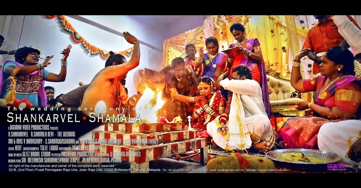 Traditional Hindu Wedding highlight | Shankarvel & Shamala by Digimax Video Productions