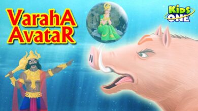 VARAHA Avatar Story | Lord Vishnu Dashavatara Stories | Hindu Mythology Stories