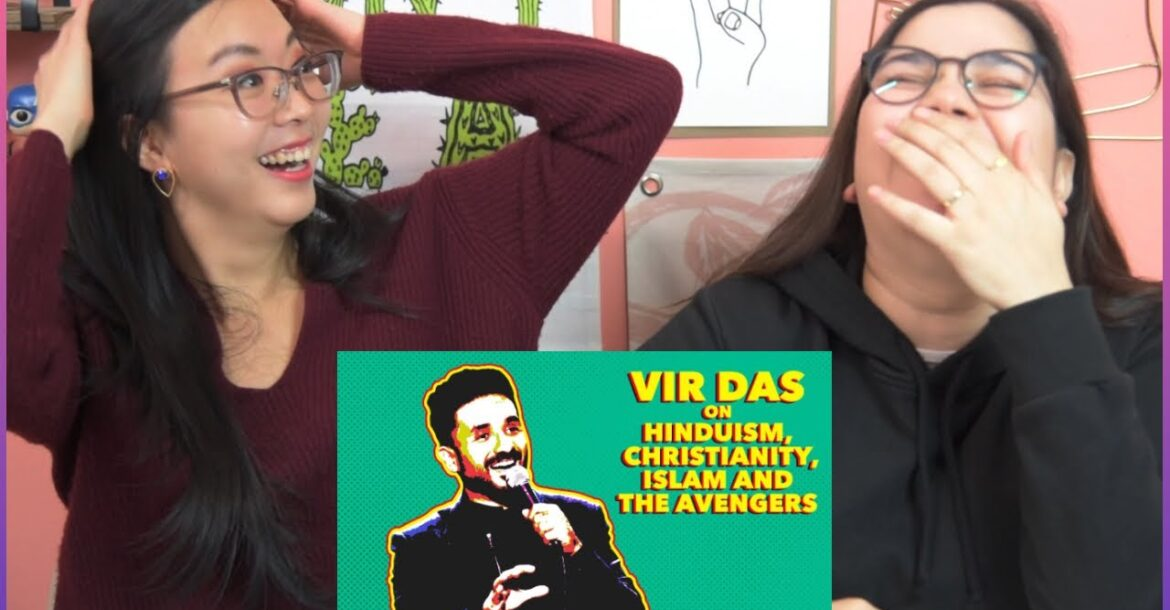 Vir Das on Hinduism, Christianity, Islam and the Avengers | Reaction