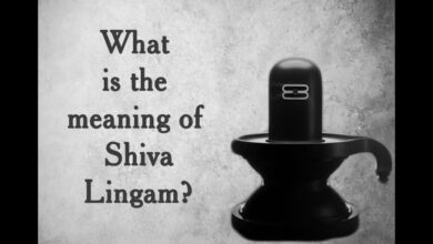 What is the meaning of Shiva Lingam?