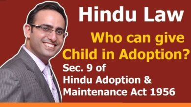 FAMILY LAW - HINDU LAW #26 || Who Can Give Child in Adoption? || ADOPTION (Part-4)