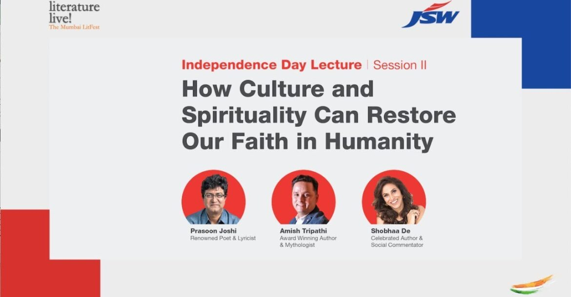 How Culture & Spirituality can restore our faith in humanity