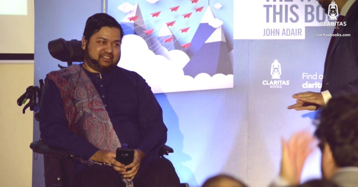 In conversation with Nabeel Al-Azami at the book launch of 'Muhammad (s): 11 Leadership Qualities...