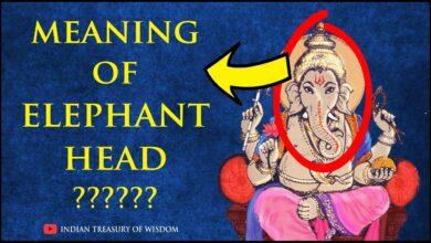 Meaning of Lord Ganesha's Elephant Head (Hindi) | भगवान गणेश के हाथी के सिर का अर्थ |