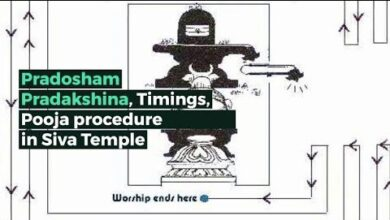 Pradosham Pradakshina, Vrat, Timings, Pooja procedure in Shiva Temple