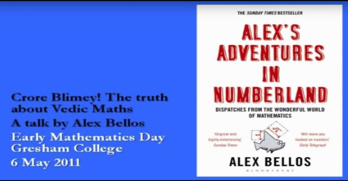 Science of Math in Hinduism by Alex Bellos | A Journalists research