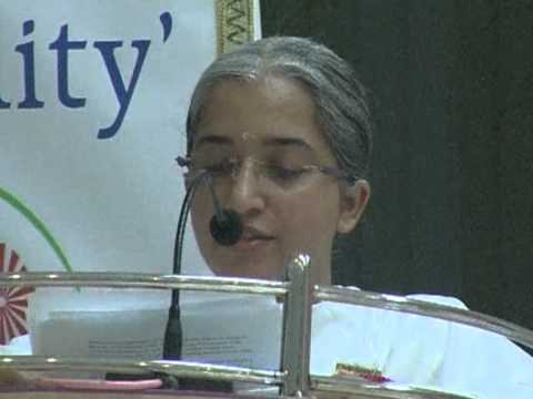 Sister Rama - An Introduction To The Sparc Wing Of Brahma Kumaris - Brahma Kumaris Discourse