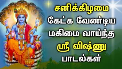VISHNU SONG FOR OVERCOME OBSTACLES AND ACHIEVE SUCCESS | Best Vishnu Tamil Devotional Songs