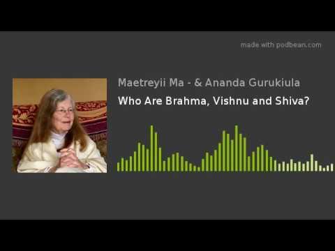 Who Are Brahma, Vishnu and Shiva?