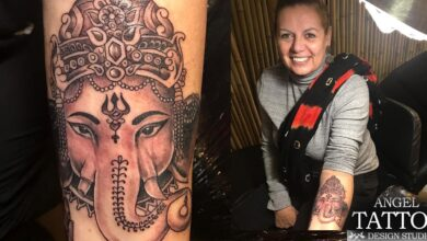 ganesha tattoo | ganesha tattoo designs and meaning