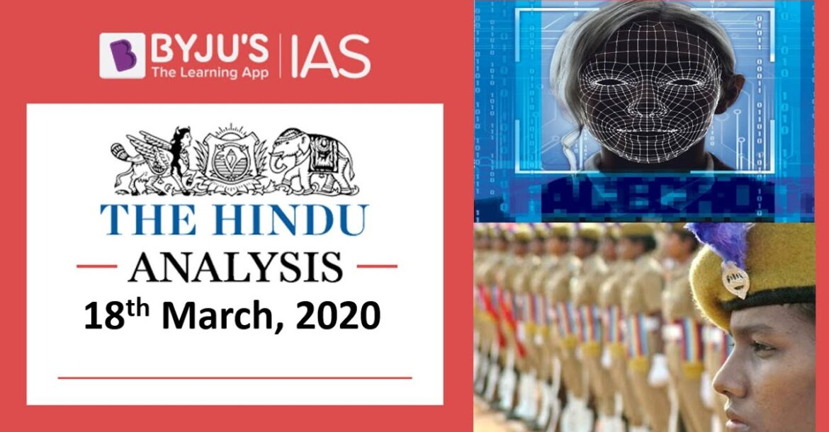 'The Hindu' Analysis for 18th March, 2020. (Current Affairs for UPSC/IAS)