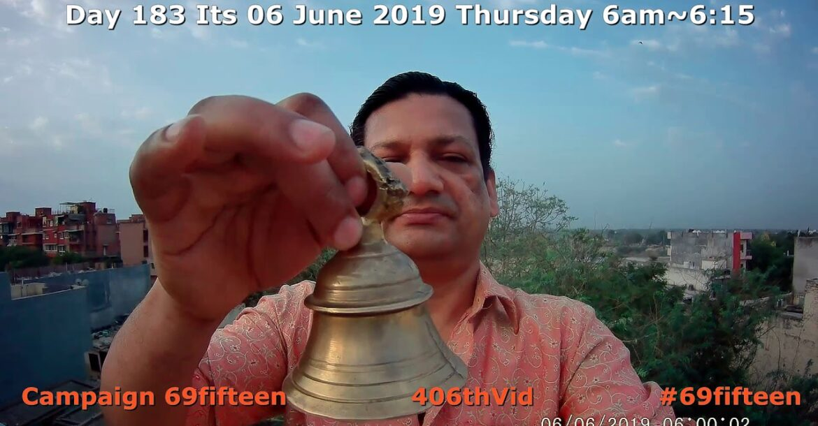 406thVid Day183 Campaign 69fifteen | Hindu Unity to Revive Ancient Wisdom by Sharing Learning