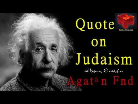 Albert Einstein's Quote on Judaism