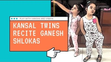 KANSAL TWINS RECITING AND EXPLAINING GANESH SHLOKAS